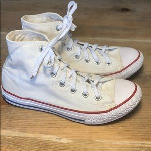 Converse All Star Chuck Taylor White Hi Sneakers